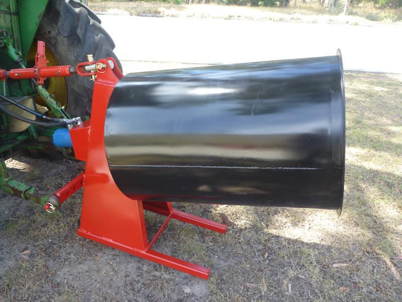 The ELGRA tractor-mounted Concrete Mixer