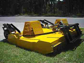 7ft Twin Hydraulic Slasher