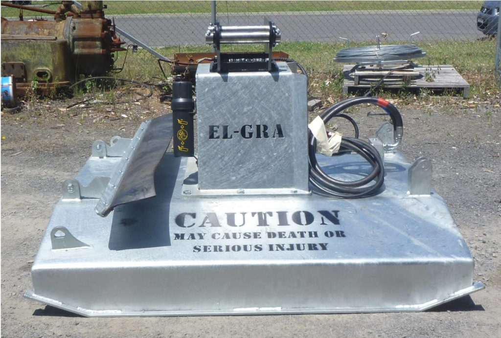 Hydraulic Skidsteer Excavator Slasher