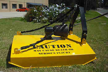 Single Rotor PTO 3pl Slasher