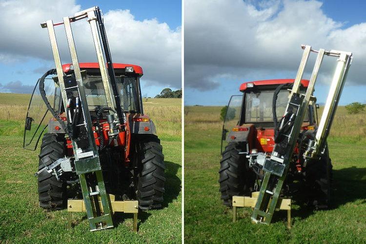 3pl post driver for tractors