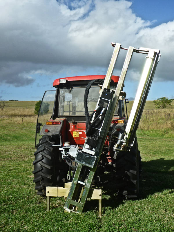 New Fence Post Rammer from ELGRA Engineering Nowra