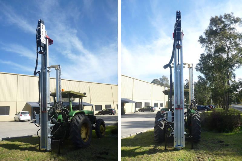 3pl Hi Lift S89 Post Driver