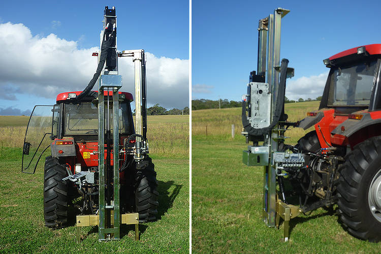 89 Series Hydraulic Post Driver for 3pl