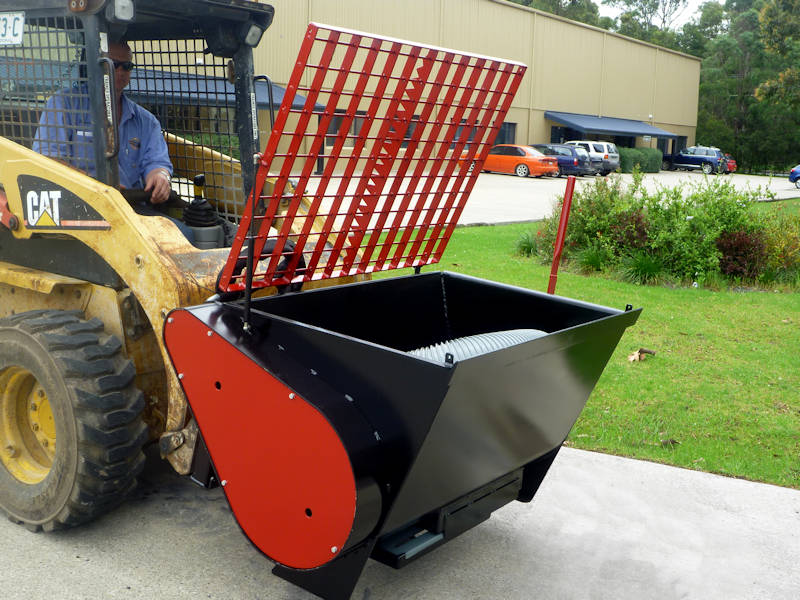 Skid Steer Concrete Mixer