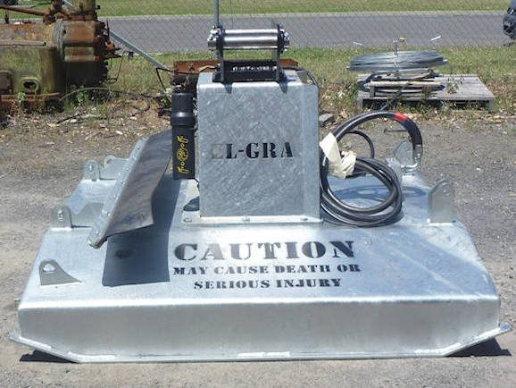 Hydraulic Slasher for mounting on Skid Steer or Excavator