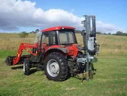 Hydraulic Post Rammer/Driver For Sale